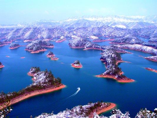 千岛湖风景图