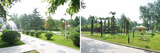 西安电子科技大学风景图